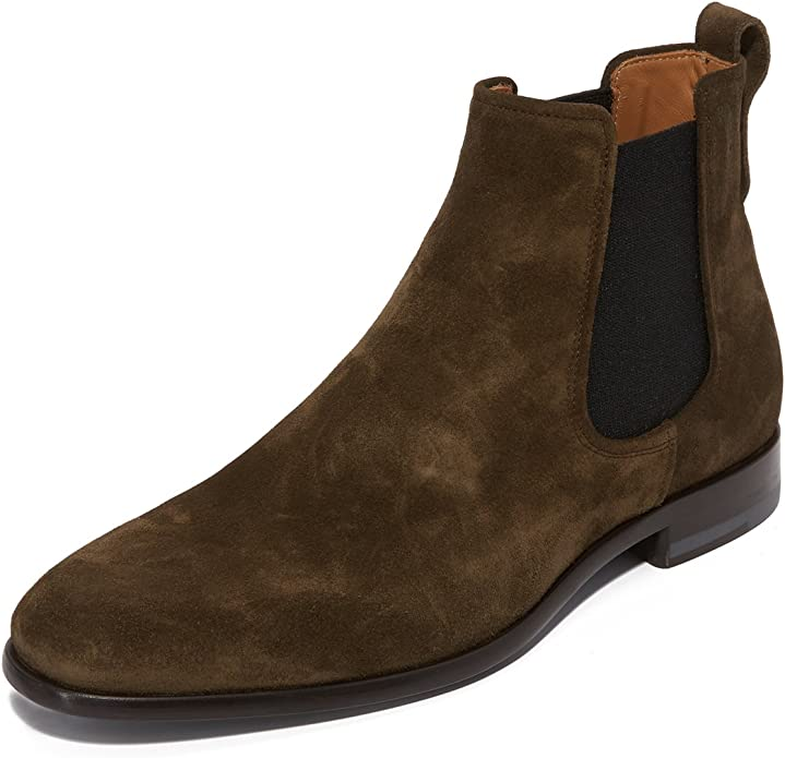 Vince Men's Arthur Chelsea Boot, Olive