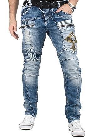 a8fd8f0e9a16 Cipo   Baxx Designer Herren Jeans Hose CD293  Amazon.de  Bekleidung