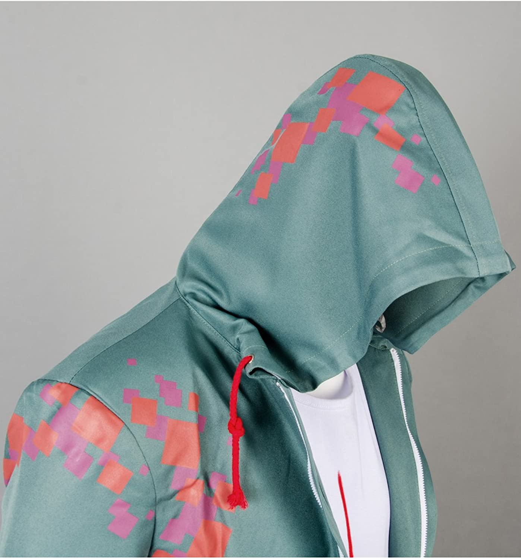 UU-Style Danganronpa V2 Komaeda Nagito Cosplay Costume Green Cape Cloak Halloween Outfit: Clothing - Amazon.com