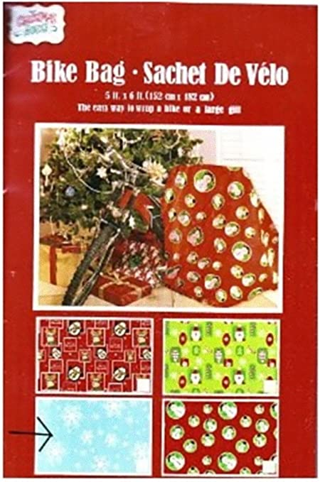"""NOS RED Extra Large Gift Bag for Bike Bicycle or Oversized Gift Size 60/"""" x 80/"""""""