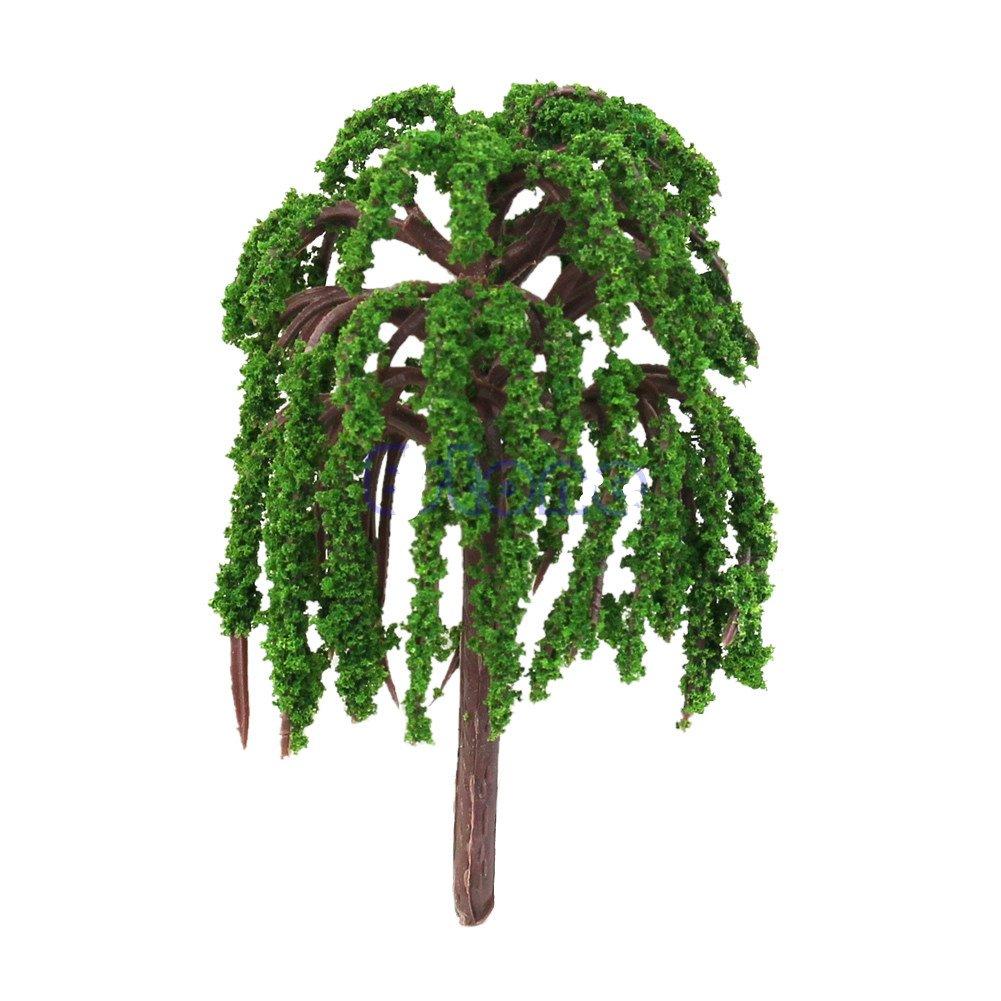 Amazon Com Techinal 1pcs Artificial Mini Willow Tree Plants