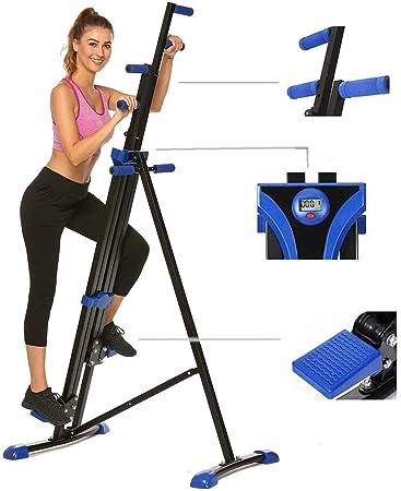LCD Stepper Fitness Exercise Calves Thigh Bum Leg Training GYM Workout Machine