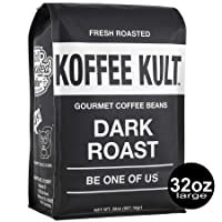 Deals on Koffee Kult Dark Fresh Roasted Coffee Beans 32oz
