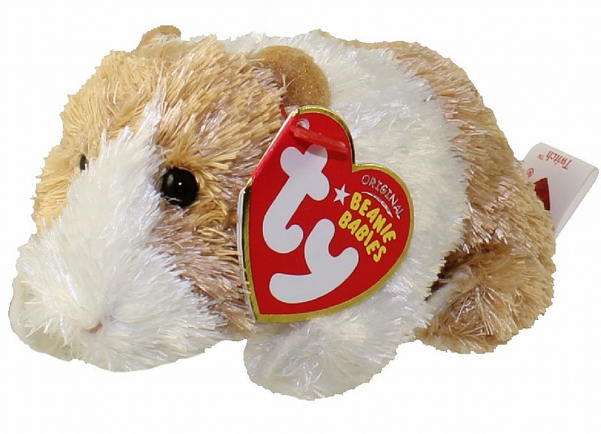 Amazon.com  TY Beanie Baby - TWITCH the Guinea Pig  Toys   Games cb174963ff6