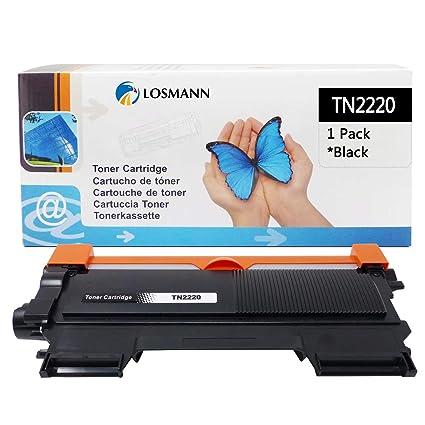 LOSMANN 1x Toner Compatible para Brother TN-2220 TN2220 TN-2010 ...