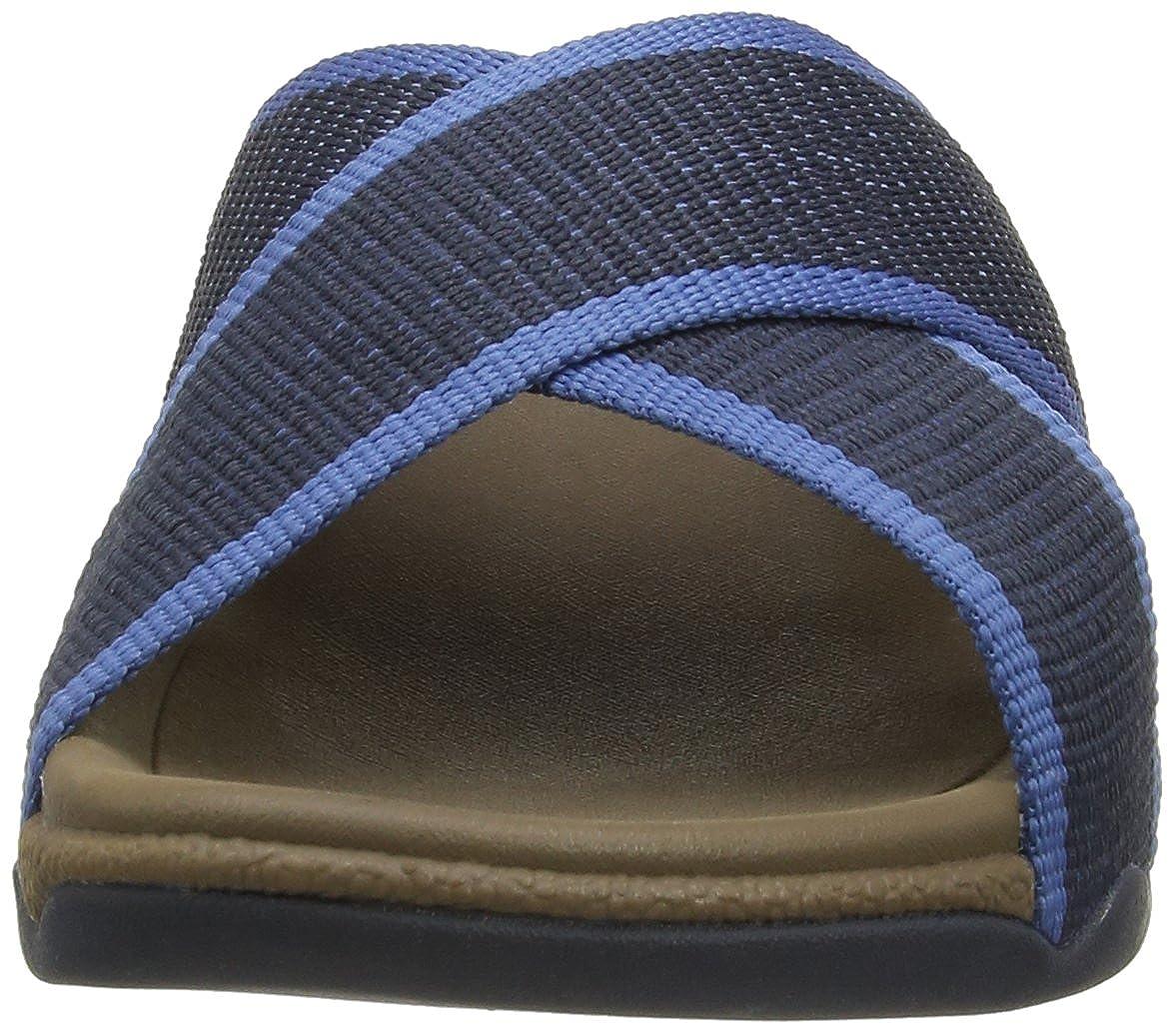 FitFlop Herren Surfer Slide, Herren FitFlop Sandalen Blau (Super Navy) b743ad