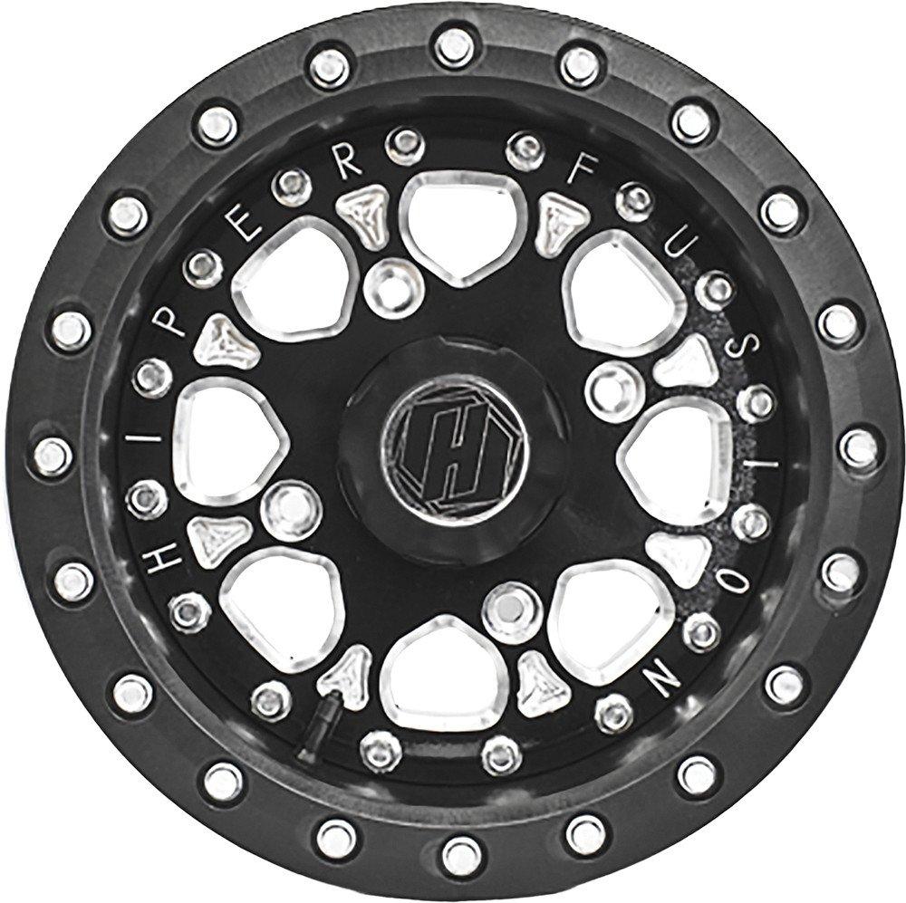 Hiper Wheel 14X7 Sbl Fs14'' 4+3 4/156 1470-PBKB4-43-SBL-BK by Hiper Technology (Image #1)