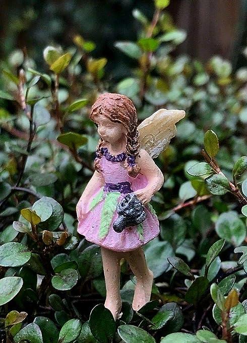Miniatura casa de muñecas hada jardín accesorios micro niña picadura bitty brooklyn Pick: Amazon.es: Amazon.es