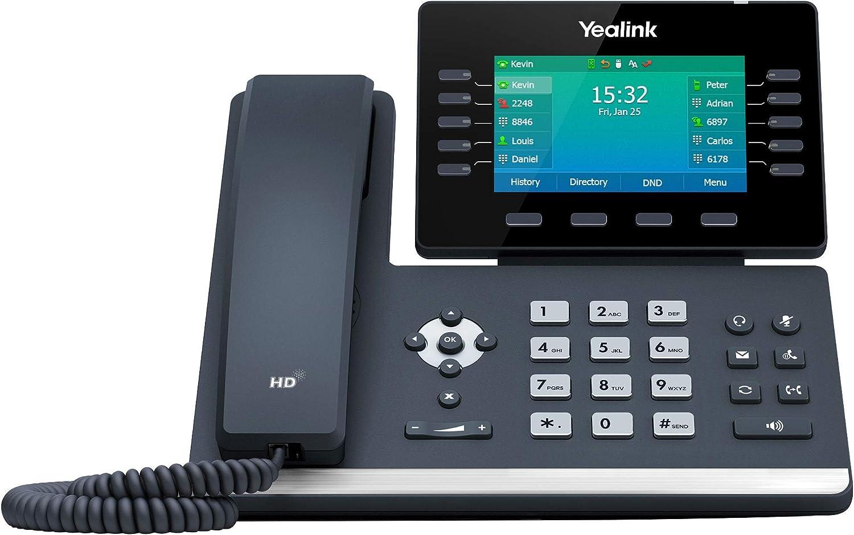 Yealink Ip Telefon Sip T54w Voip Telefon Schwarz Elektronik
