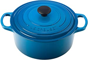Le Creuset Signature Enameled Cast-Iron 3.5 Quart Round French (Dutch) Oven, Marseille