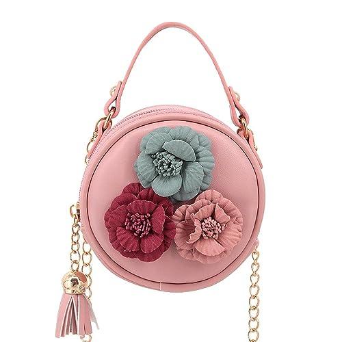Cheryl Bull Fashion Women Girls Fashionable PU Leather Round Mini Cross  Body Bag Shoulder Bag Coin 23e60bde2819d
