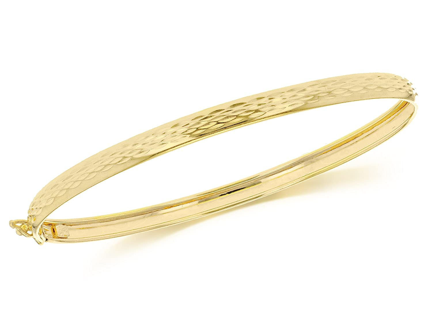 shopping bracelet jewellery candere bangle com jewellers ruchi gold a plain india company yellow online kalyan bangles