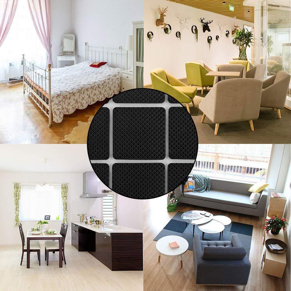 Store HD Protector autoadhesivo para sillas y sillones Protege suelo y alfombra Almohadillas de Tefl/ón para Muebles protectores de patas Deslizadores de Tefl/ón mesas sillas 16 uds suelo