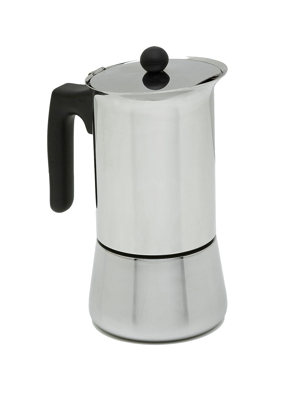 ALZA Cafetera Exprés Acero INOX 12 Tazas