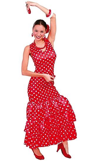 Guirca - Disfraz adulto de sevillana (80629): Amazon.es: Juguetes ...