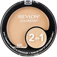 Revlon Colorstay 2 In 1 Compact Makeup & Concealer Natural Beige Face Concealer