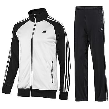 cfe375c5514 adidas Men's Track Riberio Suit Red/Navy/White Size:36