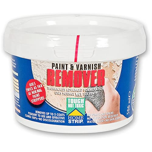 Home Strip Paint and Varnish Remover - 500ml
