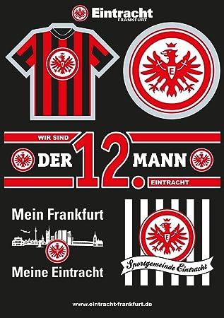 Autoaufkleber Logo Rot Unbekannt Eintracht Frankfurt Aufkleber Plus Gratis Lesezeichen I Love Frankfurt Sticker