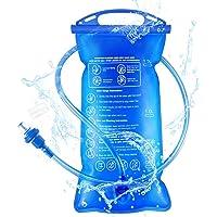 Idefair Vejiga de hidratación, vejiga de Agua de hidratación 1.5L / 2L / 3L Depósito de Agua portátil a Prueba de Fugas…
