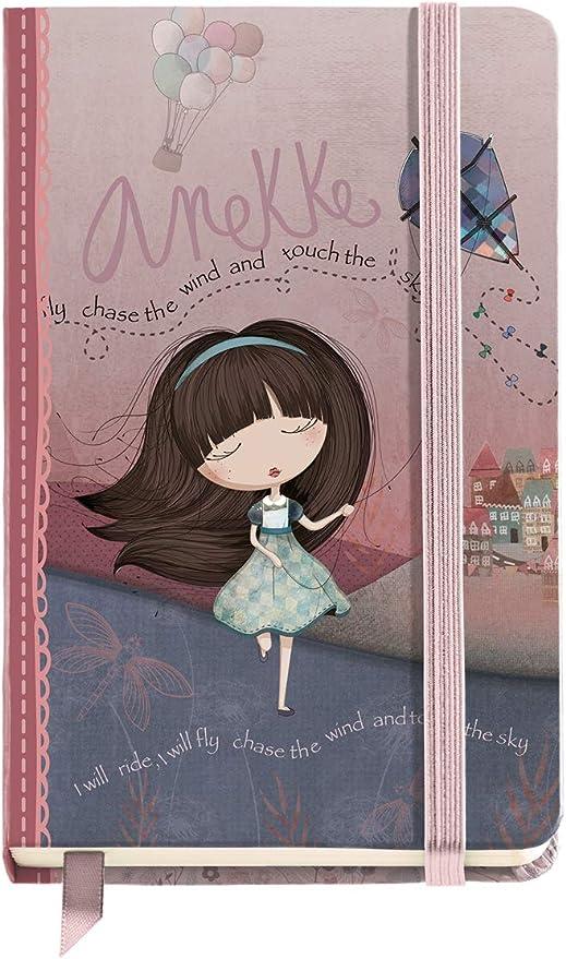 Anekke Cuaderno Liso (9x14 cm) Traveller: Amazon.es: Oficina y ...