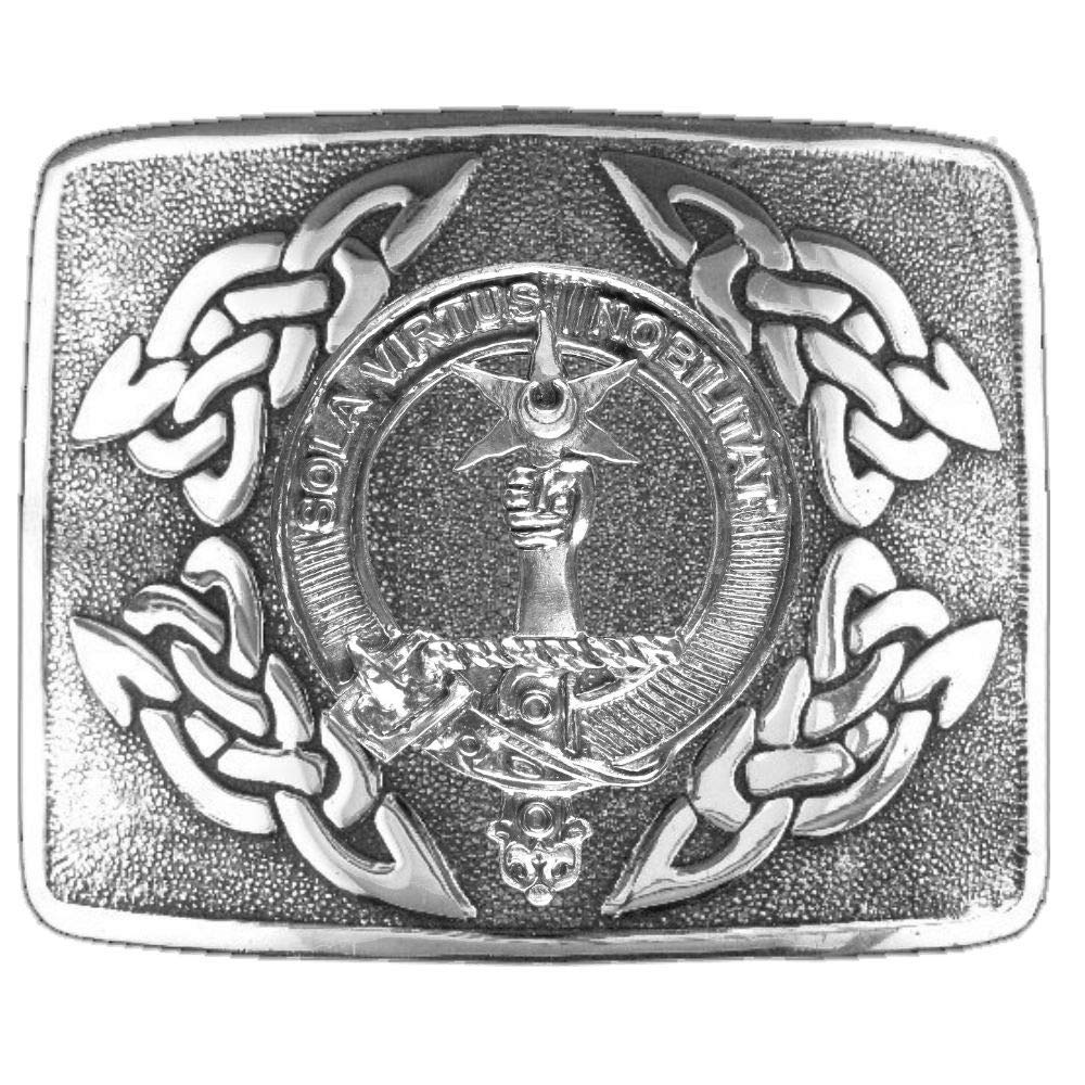 Henderson Scottish Clan Crest Kilt Buckle