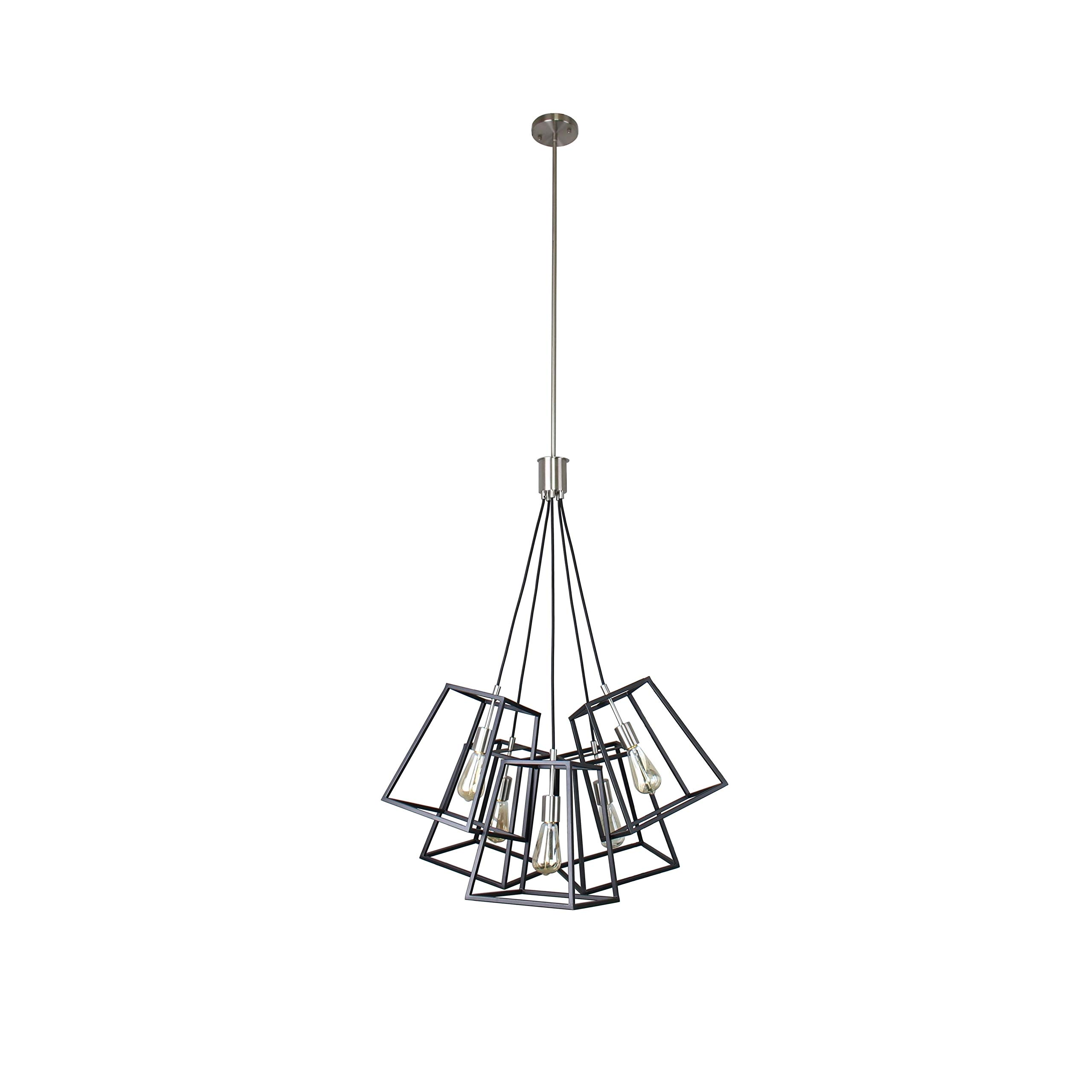 BELDI 21920-H5 Sarah Lighting Fixture, Black