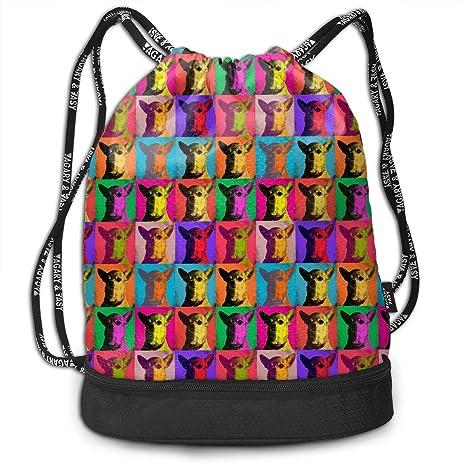 eaa4954ca771 Amazon.com: Women Men Lightweight Drawstring Backpack Bags Pop Art ...
