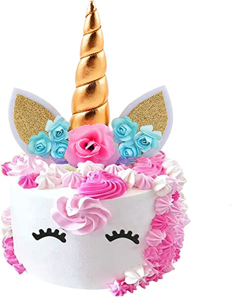 Amazon.com: Fanisi Unicornio – Juego de decoración para ...