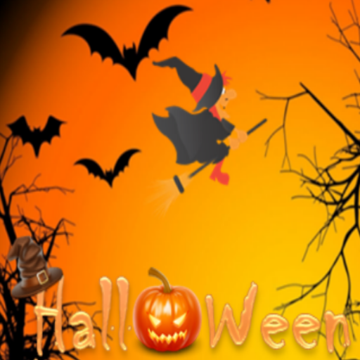 Halloween witch candy bonus game free]()