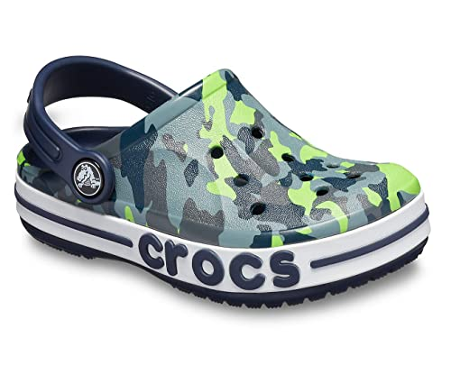 5e4210b92366 crocs Bayaband Graphic Navy Boys Clog  Amazon.in  Shoes   Handbags