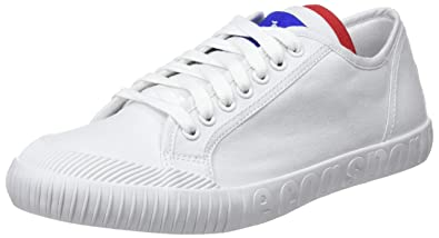 7456fe0347fa Le Coq Sportif Unisex Adults  Nationale Optical White Trainers