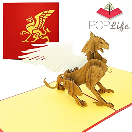 PopLife Cards Griffin mágica pop-up de la tarjeta de ...