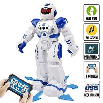Amazon Com Kids Remote Control Robot Toys Ideahome Smart