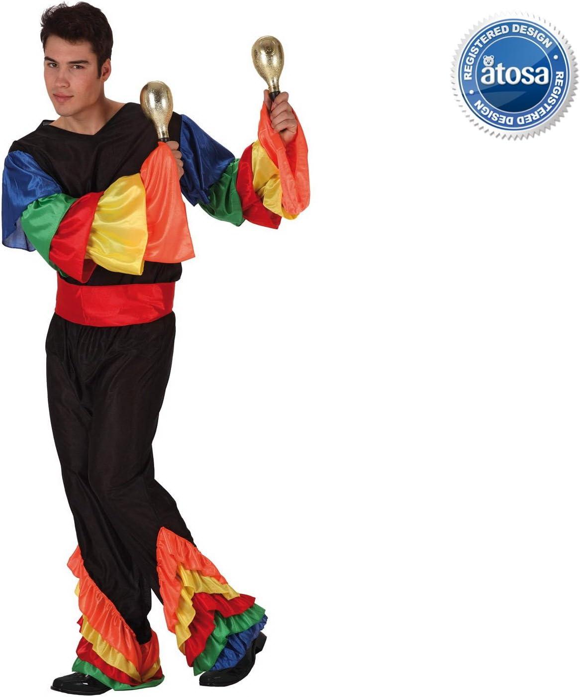Desconocido Disfraz de rumbero para hombre: Amazon.es: Juguetes y ...