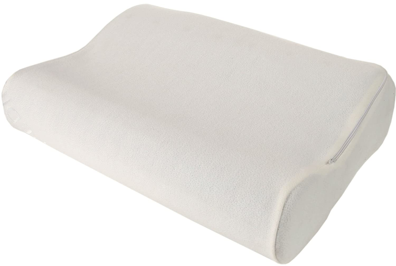 Amazon.com: Cervical Contour Pillow - Memory Foam Chiropractic ... on clinton positioning pillow, medical knee pillow, cervical pillow, sleeping pillow, office pillow, prone position pillow, firmapedic pillow, square microbead pillow, modern pillow, vibrating pillow, orthopedic pillow, beautiful pillow, love pillow, side sleeper pillow, throw pillow, standard pillow, eye pillow, expandable pillow, 6 body pillow, massage pillow, lazy lambert ergo pillow, horseshoe shaped pillow,