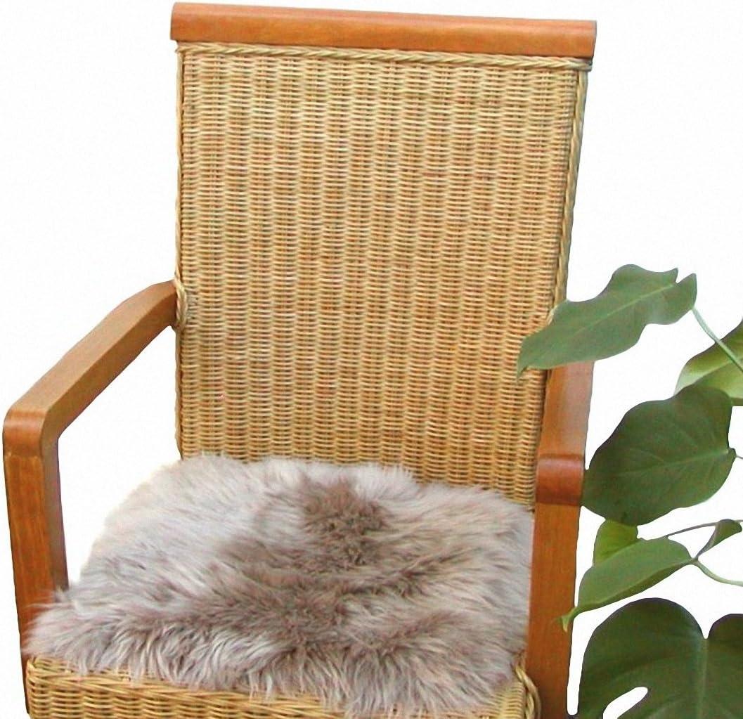 Heino Felle Eckige Sitzauflage Aus Australischen Lammfellen Fellkissen Taupe Ca 35x35 Cm Waschbar Haarlänge Ca 70 Mm Auto