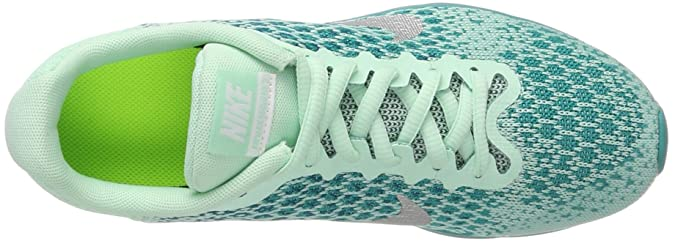 size 40 535e7 88011 Nike Air Max Sequent 2 (Gs) Sz 5. 5Y Girl Running Mint Foam/Metallic  Silver-Blustery Shoes: Amazon.in: Shoes & Handbags
