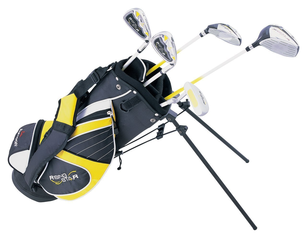 Paragon Rising Star Kids Golf Clubs Set / Ages 5-7 Yellow With Hat / Left-Hand by Paragon (Image #7)