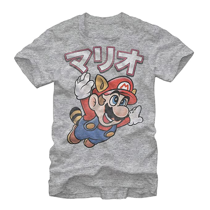 de389c8c2 Amazon.com: Nintendo Men's Super Mario Bros Japanese T-Shirt: Clothing