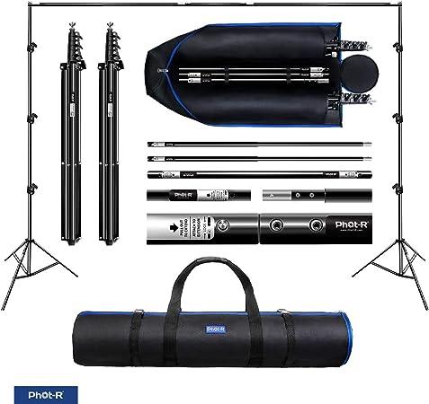 Phot R 3x3m Studio Hintergrundstützungssystem Kamera