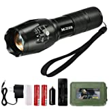 Amazon Price History for:MIZOO LED Flashlight Torch Adjustable Focus Zoomable Mini Generic , Super Bright - Sturdy and Durable Aluminium Structures - Water Resistant Lighting Lamp Torch For Hiking, Camping, Emergency