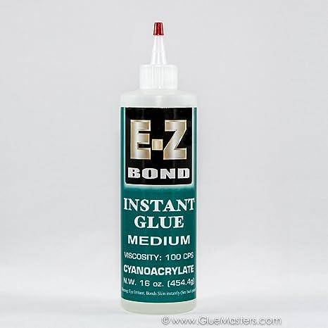 Amazon.com: EZ Bond Premium Super Glue – 16 oz – 100 cps ...
