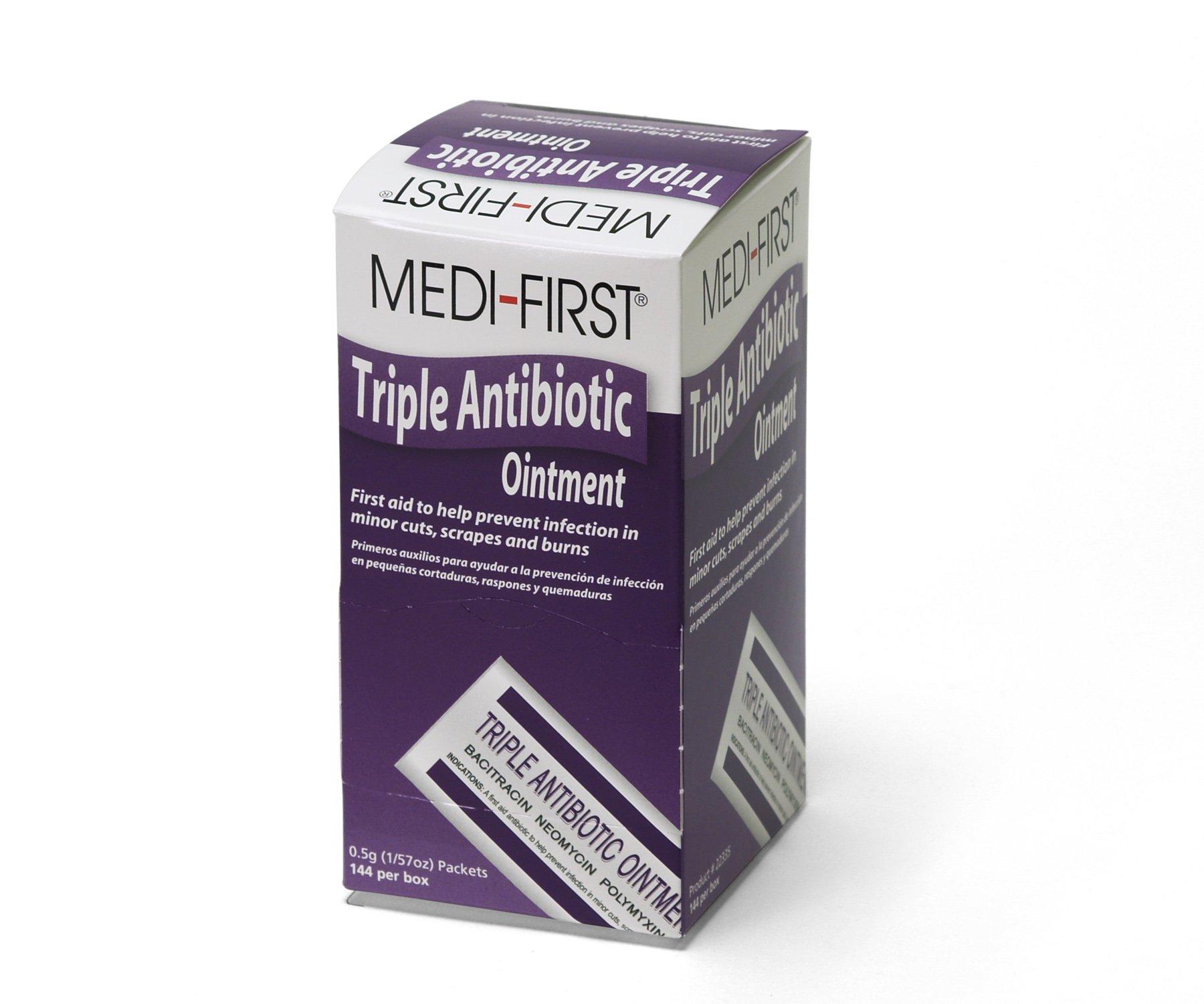 Medique Products 22335 Triple Antibiotic Ointment.5 Gram, 144 Per Box