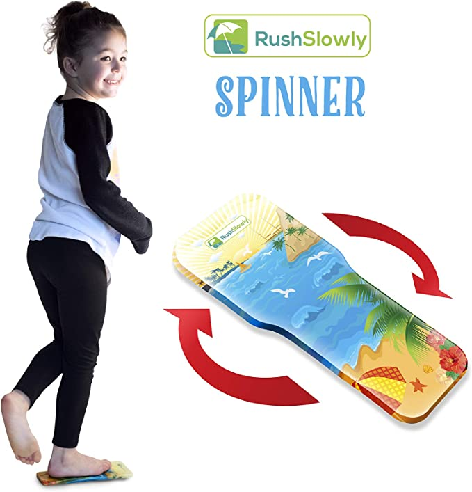 Ice Skating Spinner Improves Ice Skating Spins/ Superior Stretch Products SPINBOARD