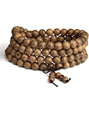 Mala Bracelet Necklace Men's Women's Tibetan Buddhist Buddha Meditation Prayer Bead