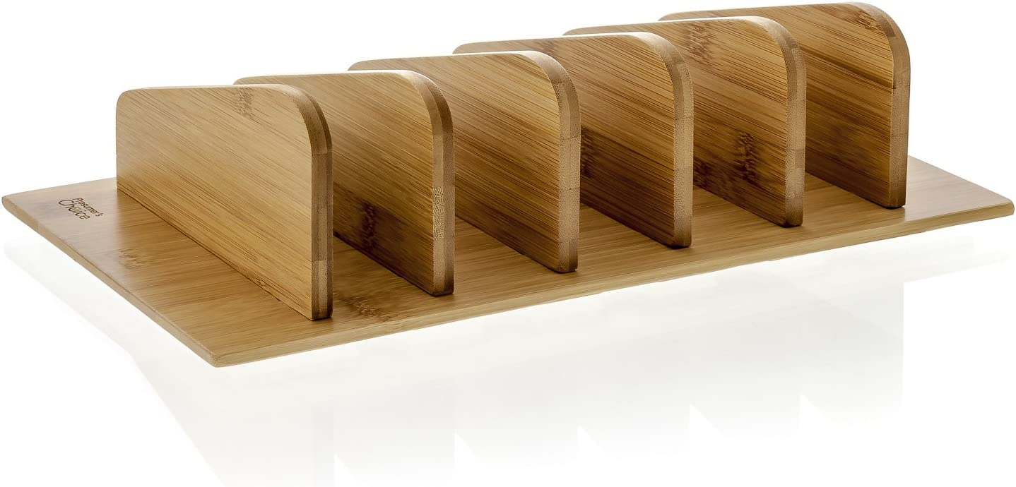 Wooden charging station with multiple slots for phones -- second grade classroom supplies