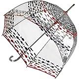 Totes Isotoner Unisex Classic burbuja transparente cúpula paraguas