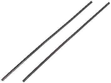 Cora 000010102 de goma para parabrisas limpiaparabrisas, 75 cm, color negro: Amazon.es: Coche y moto