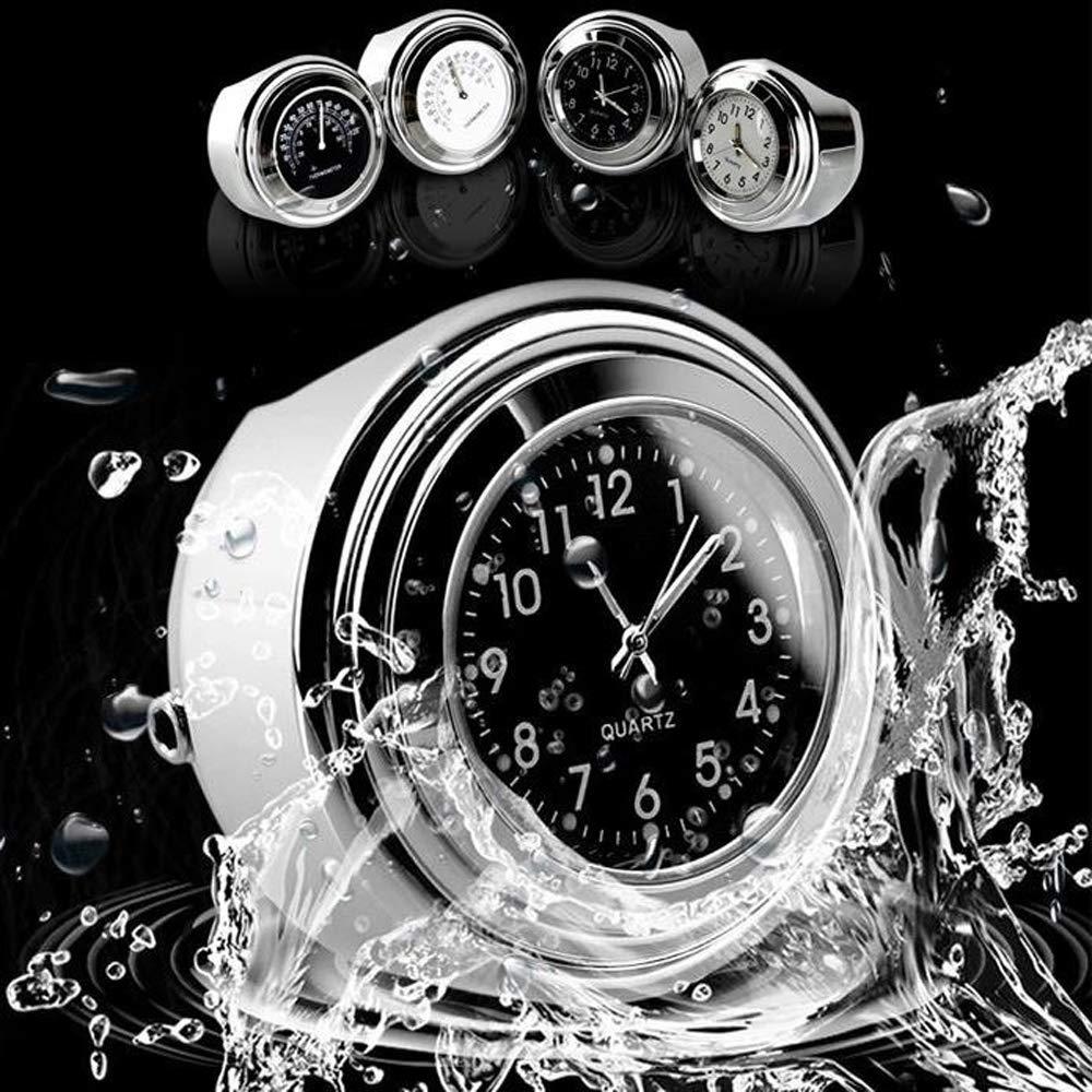 Motorrad wasserdichte Lenkerhalterung Zifferblatt Uhr Motor Armaturen Motorrad Lenker Werkzeuge